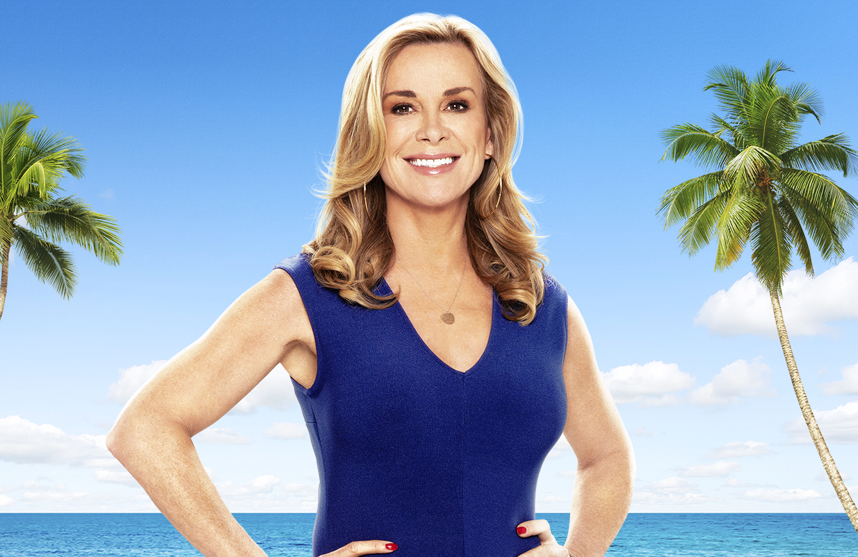 Interiors and Design Expert Juliet Ashworth is the judge on Aussie competition series Instant Hotel. (Seven/Netfix)
