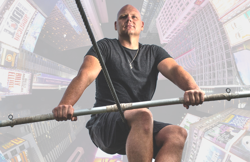 Nik Wallenda will attempt a 25-story wire walk in Highwire Live in Times Square (ABC)