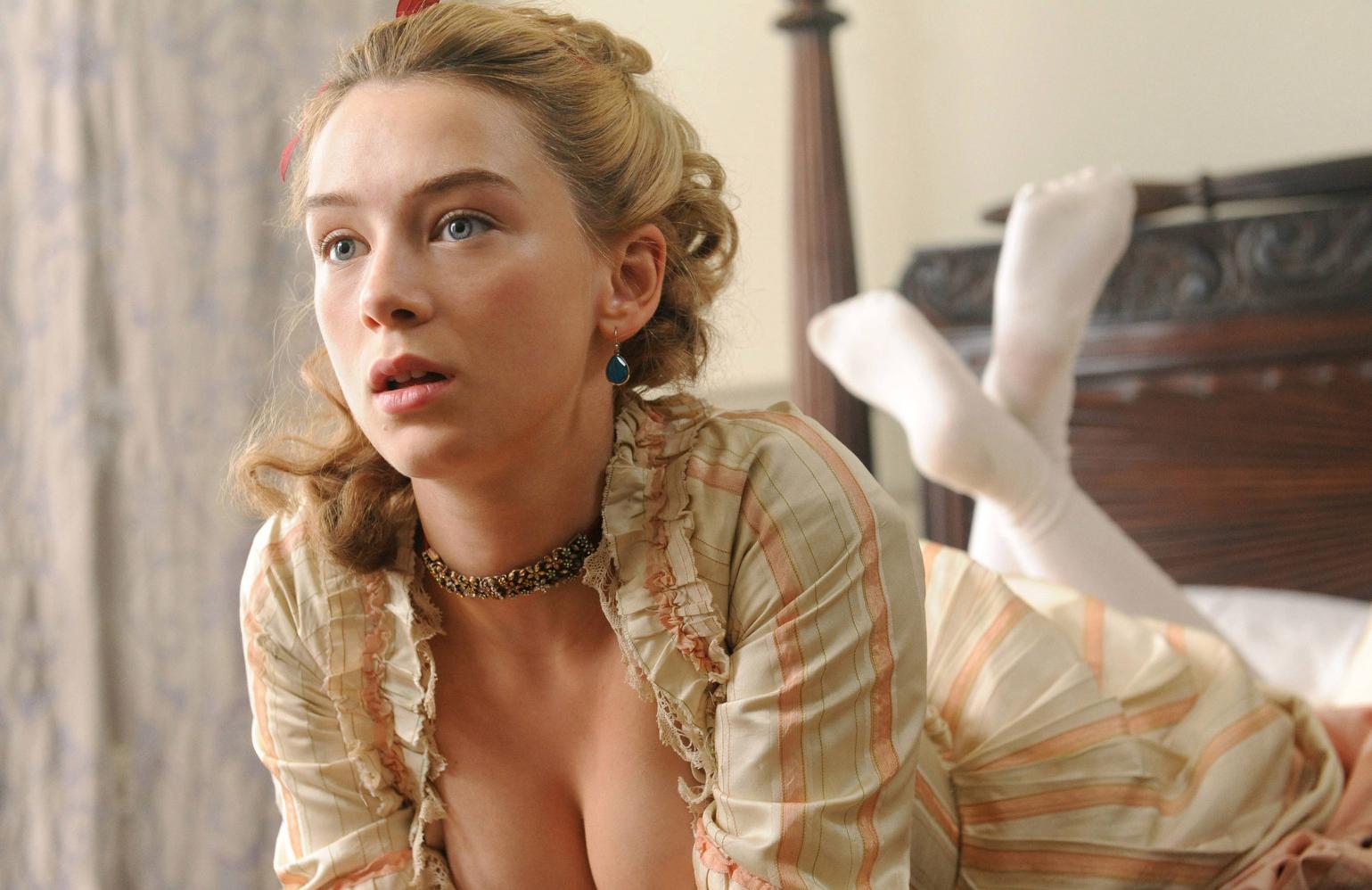 Eloise Smyth plays Lucy Wells in Harlots (ITV/Hulu)