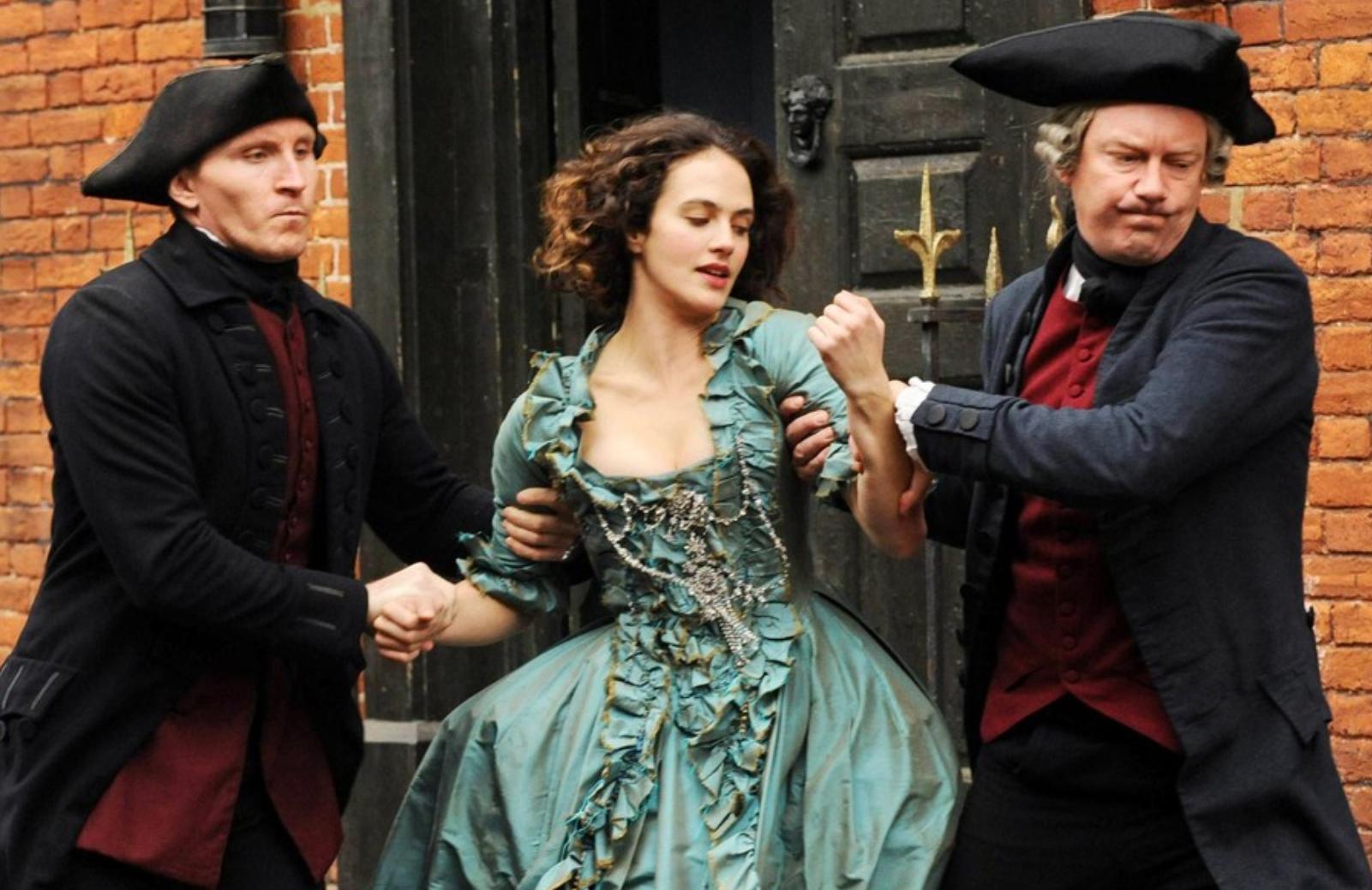 Jessica Brown Findlay as Charlotte Wells in Harlots (ITV/Hulu)