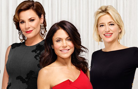 Lu Ann De Lesseps, Bethenny Frankel, and Dorinda Medley in The Real Housewives of NYC (Bravo)