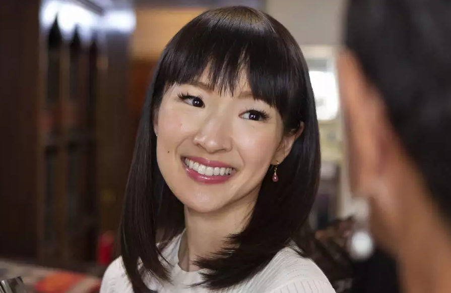 Marie Kondo in Tidying Up With Marie Kondo (Netflix)