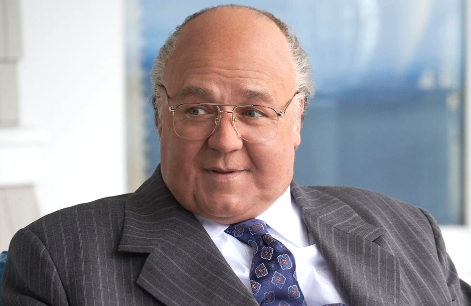 Russell Crowe is Roger Ailes in The Loudest Voice (Showtime)