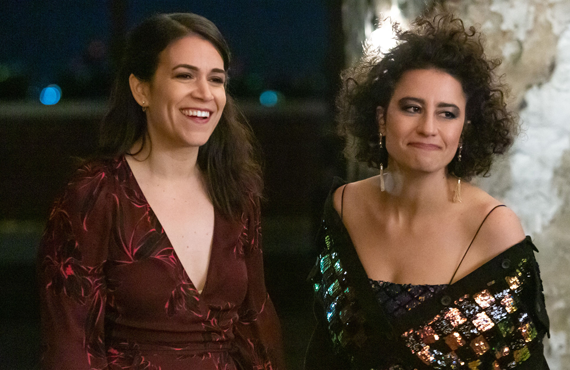 Abbi Jacobson and Ilana Glazer in Broad City (Comedy Central)