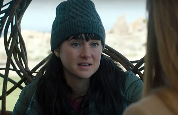 Shailene Woodley in Big Little Lies (HBO)