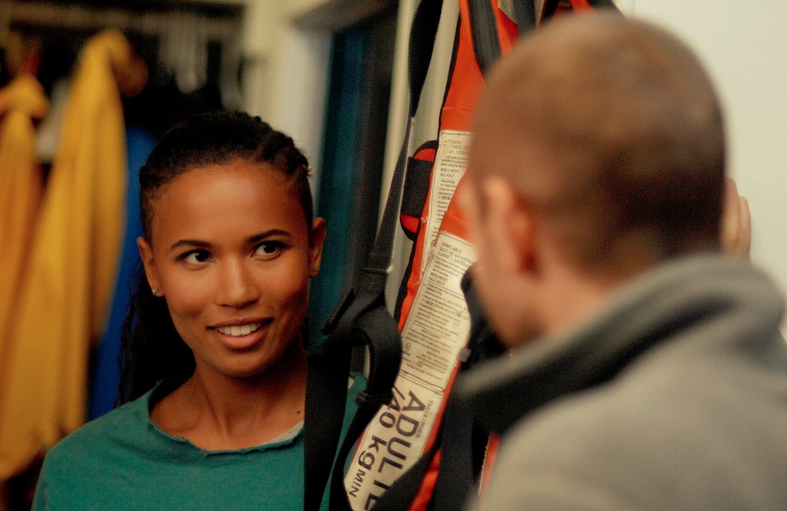 <i>Fola Evans-Akingbola plays marine biologist Maddie Bishop in Siren. (Freeform)</i>