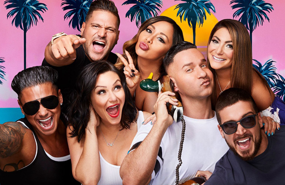 The cast of Jersey Shore Family Vacation is tanned, rested and ready for... litigation? (MTV)