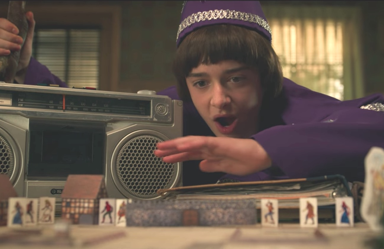 Will Byers (Noah Schnapp) enjoys a good game Dungeons & Dragons.