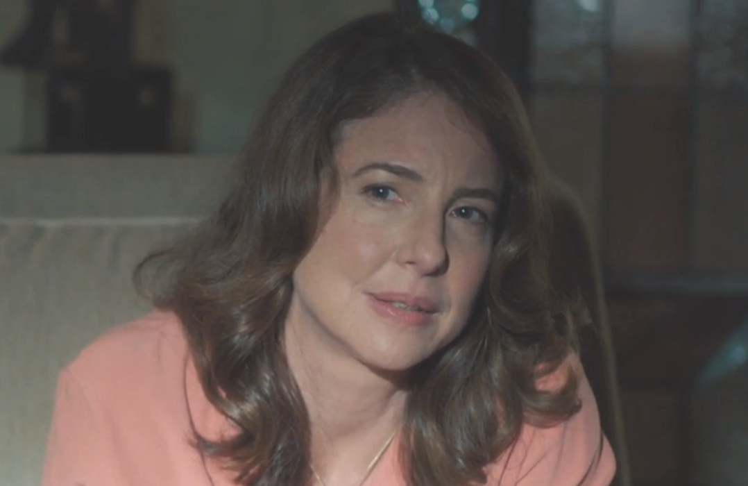 Robin Weigert portrays Dr Amanda Reisman in Big Little Lies (HBO)