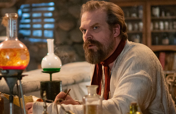 David Harbour in Frankenstein's Monster's Monster, Frankenstein (Netflix)