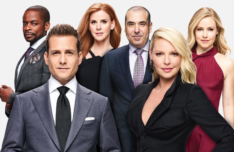 Dulé Hill, Gabriel Macht, Sarah Rafferty, Rick Hoffman and Katherine Heigl return for the final season of Suits (USA)