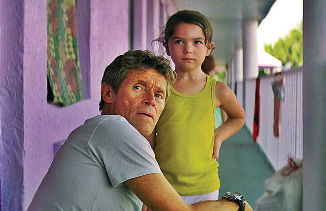 Willem Dafoe earned an Oscar nomination for his role in The Florida Project. You can watch it for free on Kanopy.