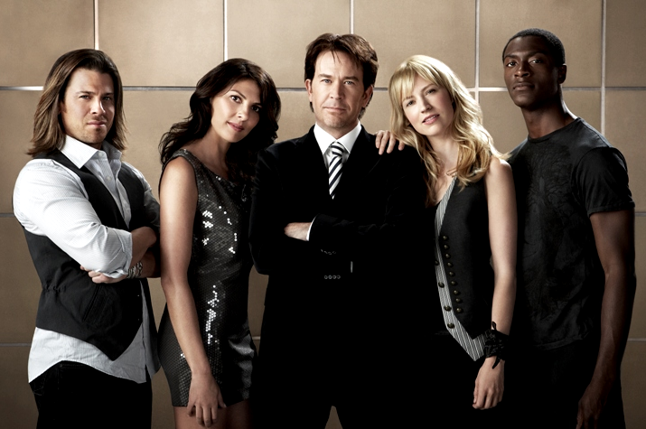 All five seasons of the TNT original Leverage are available for free on Vudo. (TNT)