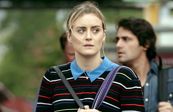 Piper (Taylor Schilling) is back on the streets in the seventh and final season of Orange Is the New Black (Netflix)