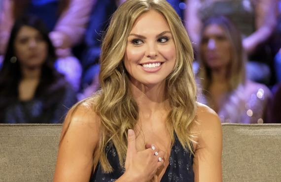 Hannah Brown on The Bachelorette (ABC)
