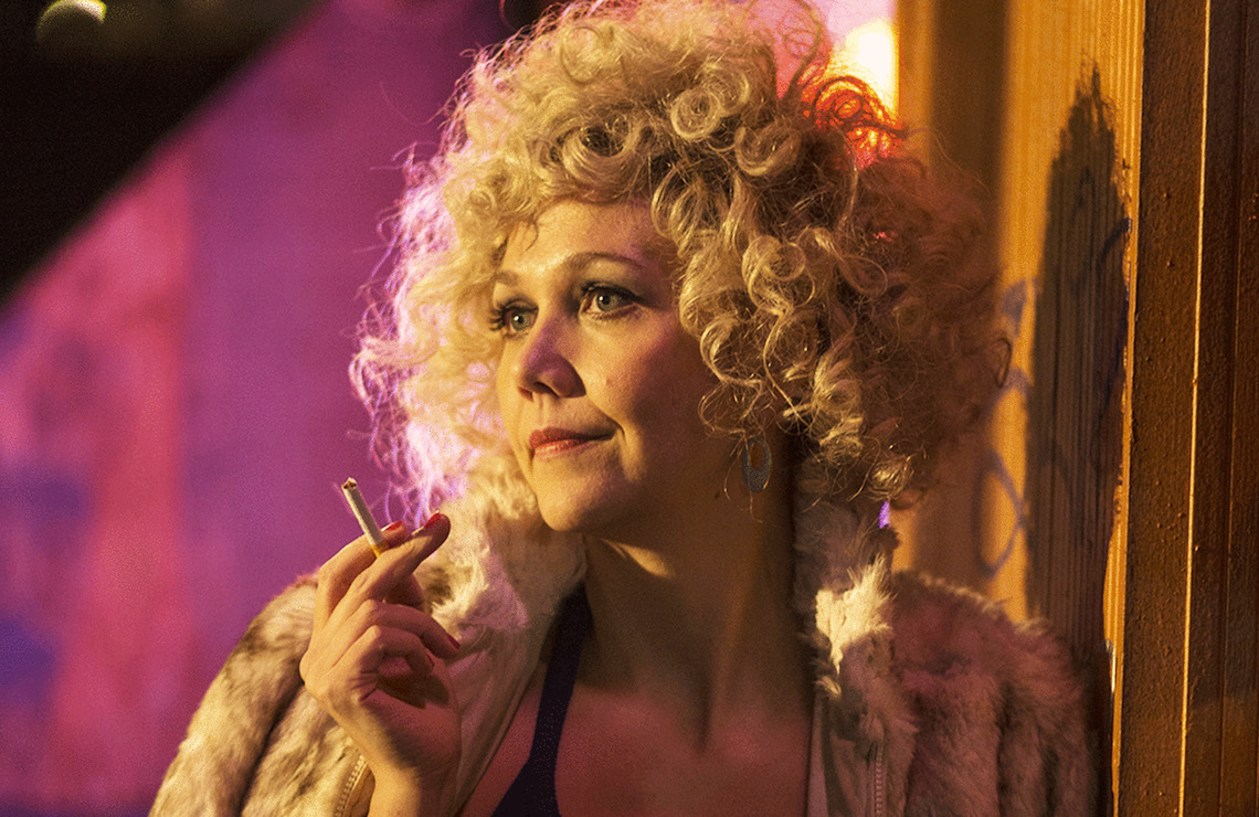 "Maggie Gyllenhaal as Eileen ""Candy"" Merrill in The Deuce (Paul Schiraldi/HBO)"