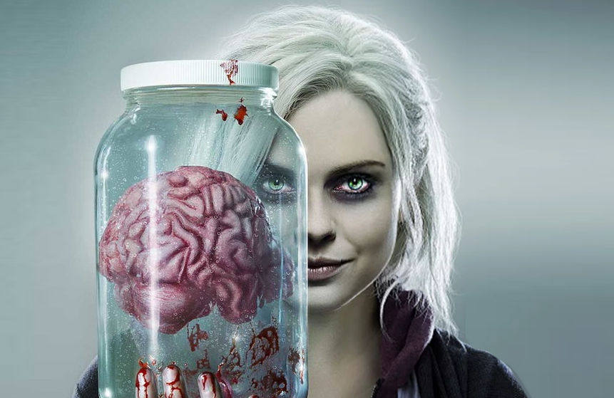 Rose McIver stars in iZombie (The CW)