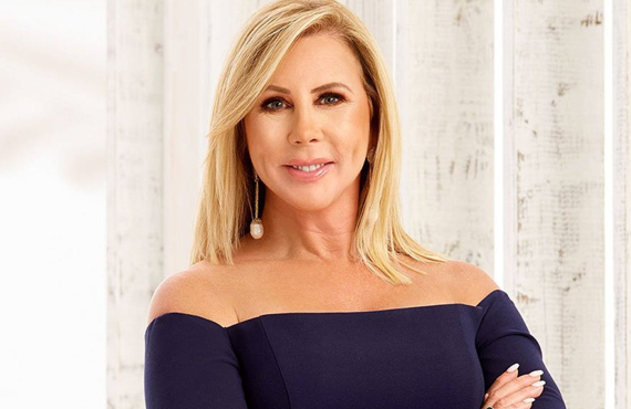 The Real Housewives of Orange County' Vicki Gunvalson isn't in the official cast this season.  (Photo: Bravo)