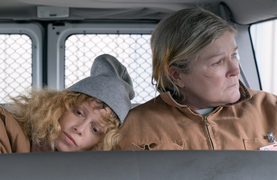 Natasha Lyonne and Kate Mulgrew in Orange Is the New Black (Netflix)