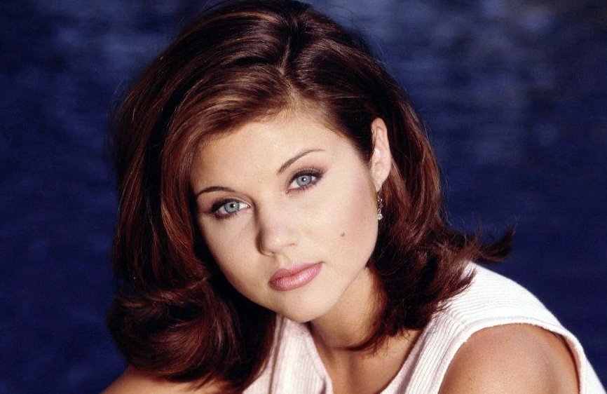 Tiffani Thiessen as Valerie Malone in Beverly Hills, 90210 (FOX)