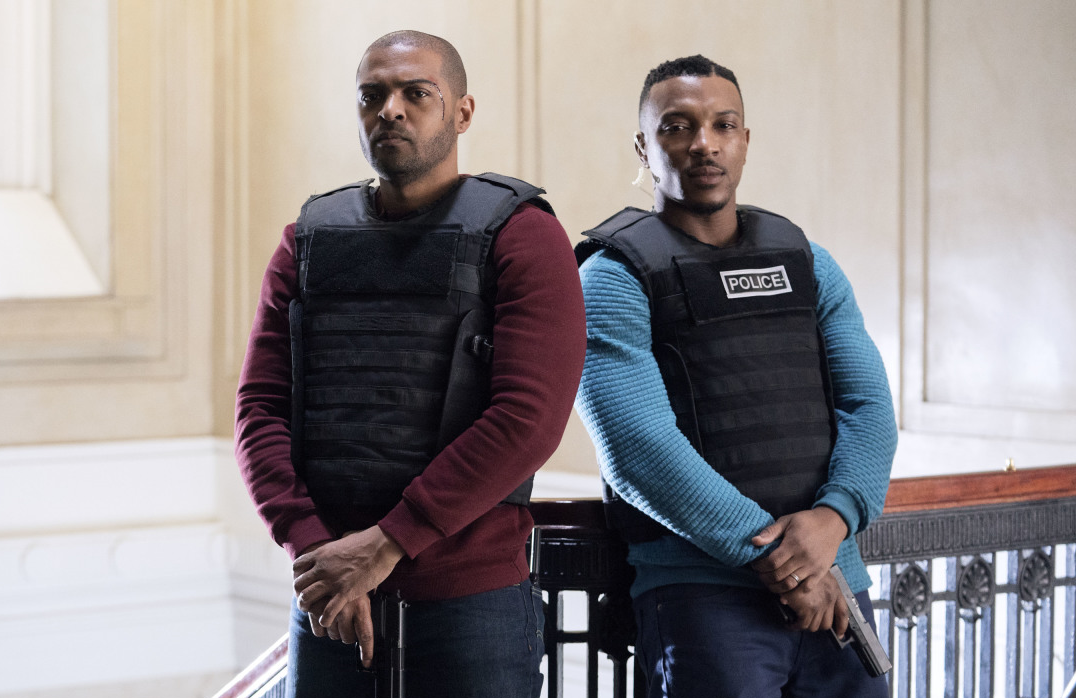 Ashley Walters and Noel Clarke in  Bulletproof. (CW)