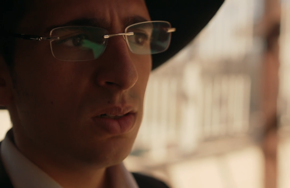 Adam Gabay is Avishai, one of the ultra-Orthodox Jews suspected of a revenge killing in Our Boys. (HBO)