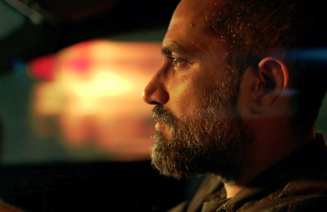 Shlomi Elkabetz plays Simon, an Israeli counter-terrorism agent investigating the murder at the heart of Our Boys. (HBO)