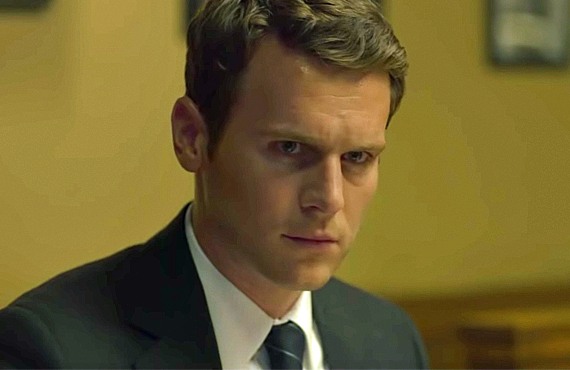 Jonathan Groff as Holden Ford in Mindhunter (Netflix)