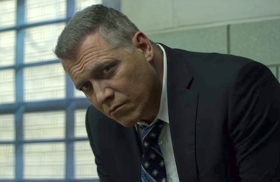 Holt McCallany as Bill Tench in Mindhunter (Netflix)