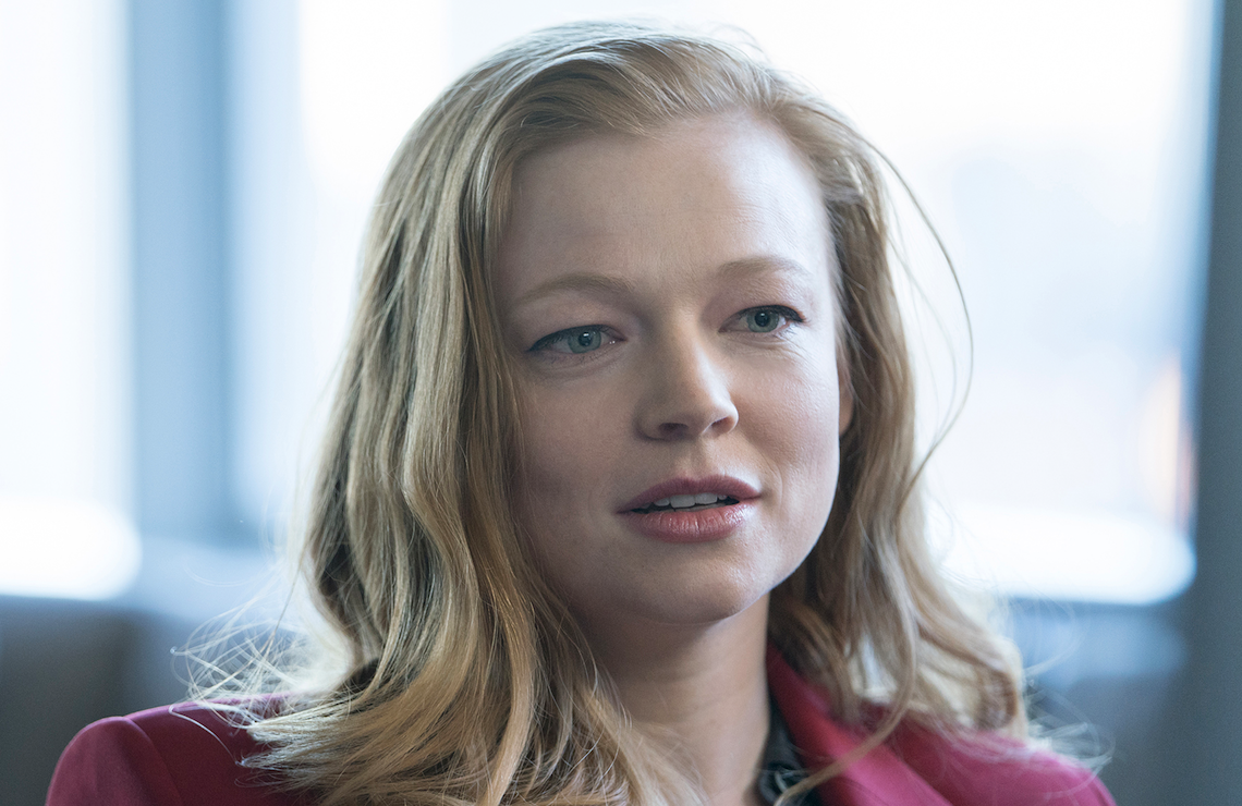 Sarah Snook as Shiv Roy in Succession (Photo: Peter Kramer/HBO)