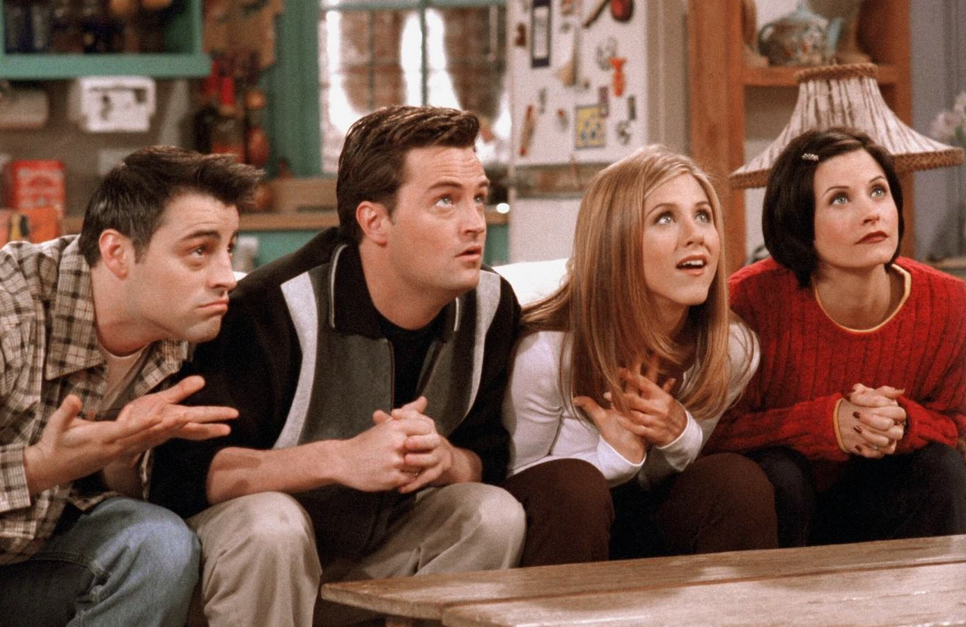 "An image from the Friends Season 4 episode, ""The One with the Embryos."" (Photo: Warner Bros Entertainment/Fathom Events)"