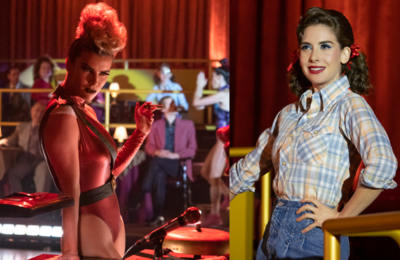"Betty Gilpin and Alison Brie in GLOW's standout season three episode, ""Freaky Tuesday."" (Netflix)"