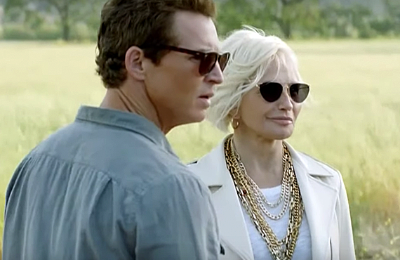 Shawn Hatosy, Ellen Barkin in Animal Kingdom (TNT)