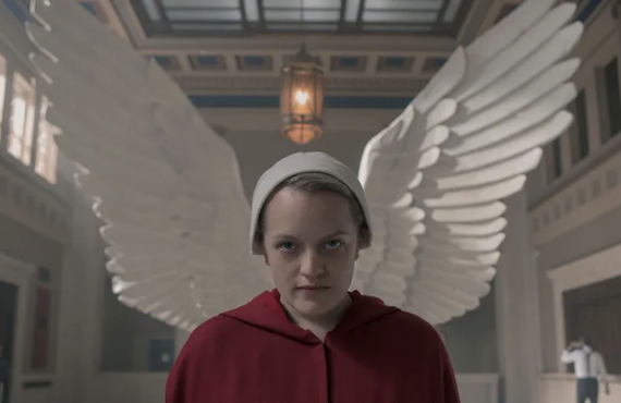 Elisabeth Moss in The Handmaid's Tale (Hulu)