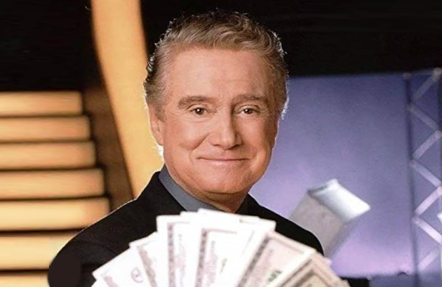 Regis Philbin was the host with the most (money, that is) on Who Wants to Be a Millionaire (ABC)