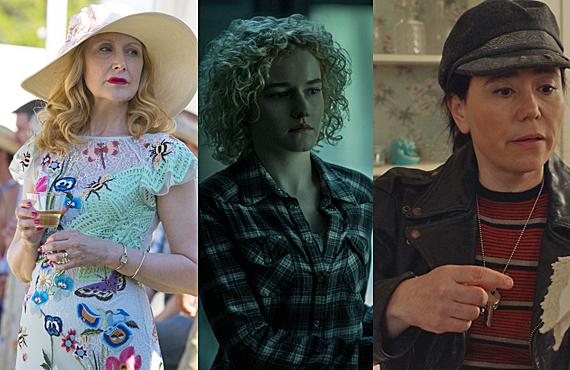 Patricia Clarkson, Julia Garner, Alex Borstein (HBO, Netflix, Amazon)