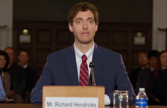 Thomas Middleditch in Silicon Valley