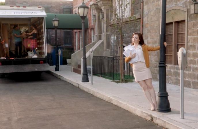 Ella (Helen Highfill) lives a fangirl's dream come true in <I>I Ship It</I>. (The CW)