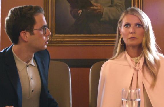 Benjamin Platt and Gwyneth Paltrow in The Politician