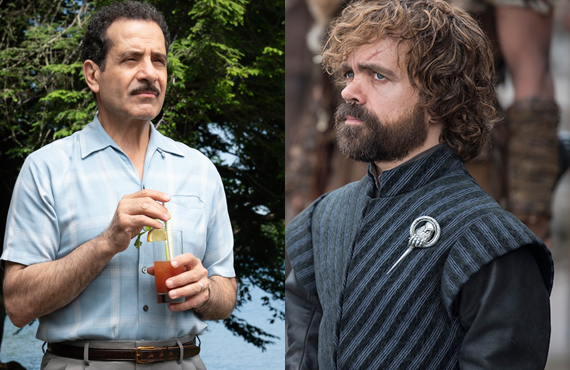 Tony Shalhoub and Peter Dinklage (Amazon, HBO)