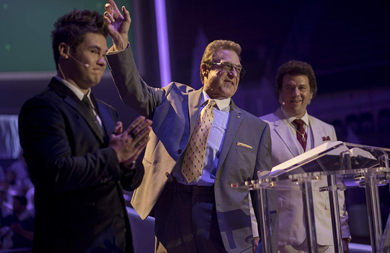 Adam Devine, John Goodman, and Danny McBride in The Righteous Gemstones (HBO)