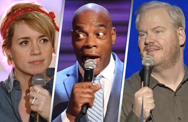 Alice Wetterlund, Alonzo Bodden and Jim Gaffigan headline Amazon's first crop of stand-up specials.