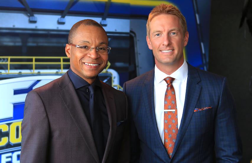 Gus Johnson and Joel Klatt return as Fox's lead game crew for college football this year  (Photo: Fox)