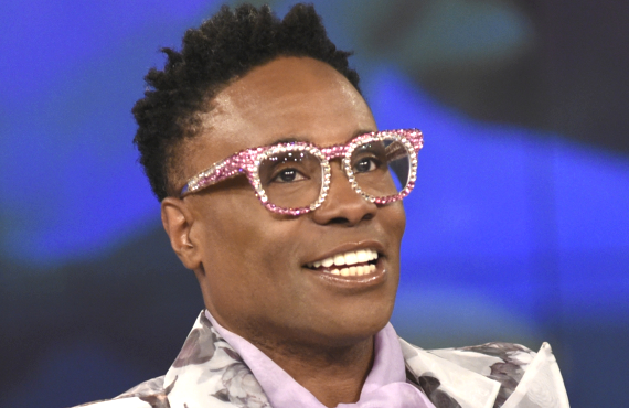 Billy Porter photographed during a June 14, 2019 appearance on The View. (Walt Disney Television/Paula Lobo)