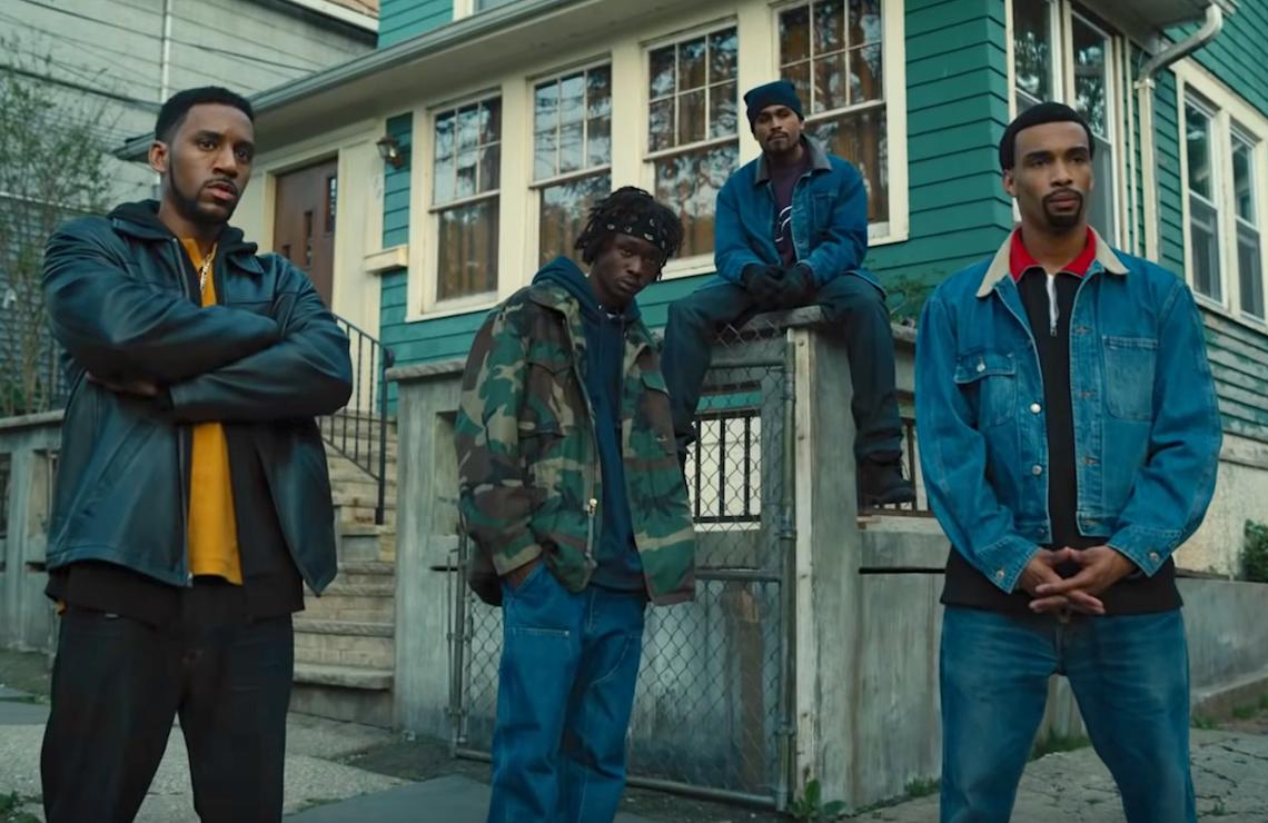 The cast of Wu-Tang: An American Saga. (Hulu)