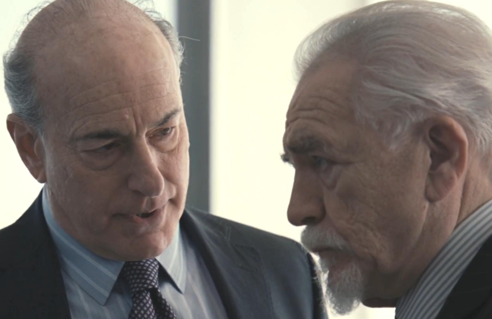 Frank (Peter Friedman) and Logan (Brian Cox). (Photo: HBO)