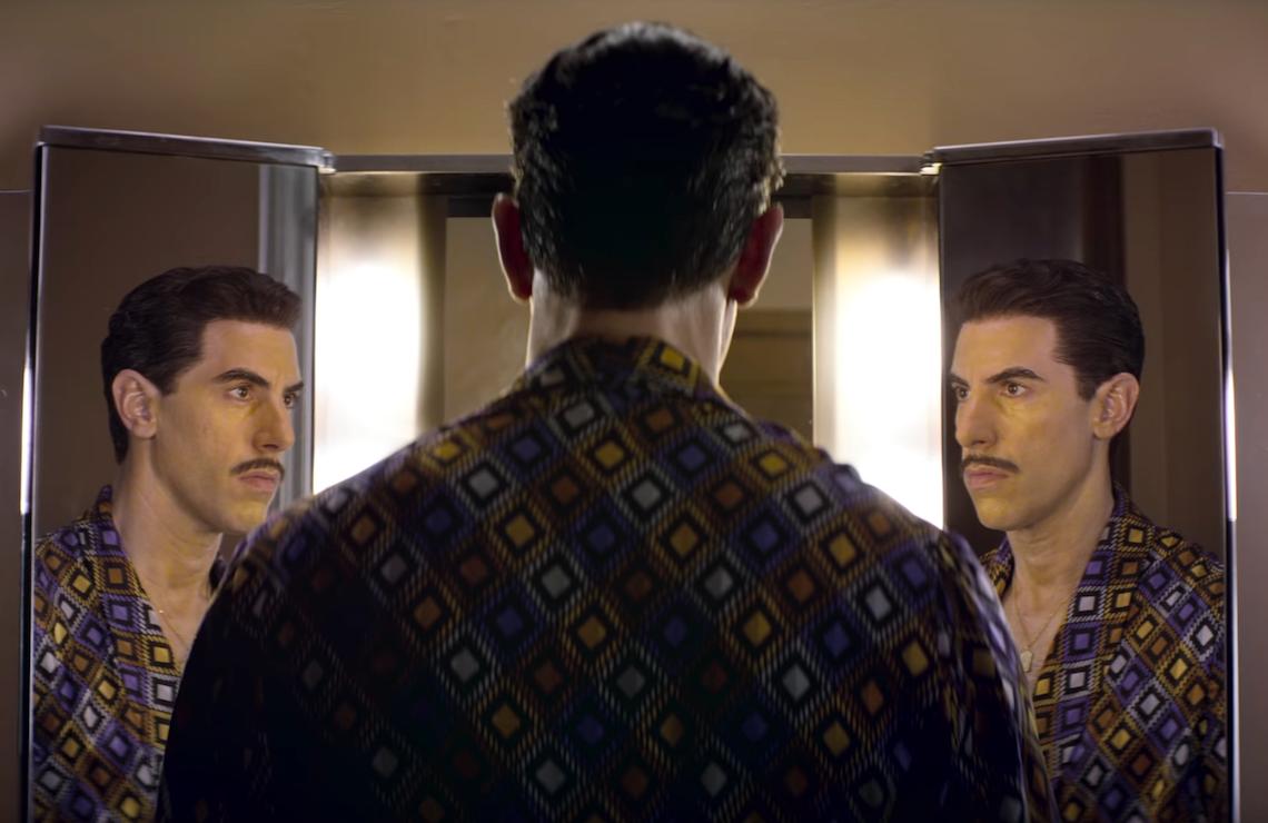 Sacha Baron Cohen makes his dramatic acting debut as Eli Cohen in The Spy (Netflix)