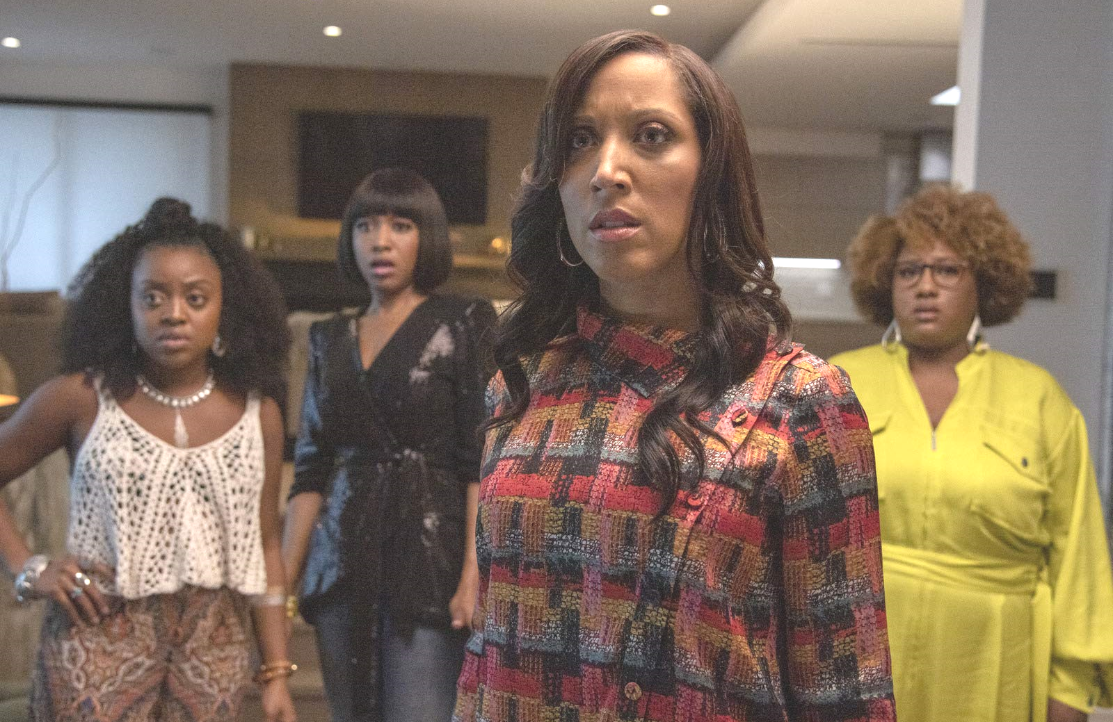 Quinta Brunson, Gabrielle Dennis, Robin Thede and Ashley Nicole Black star in A Black Lady Sketch Show. (HBO)