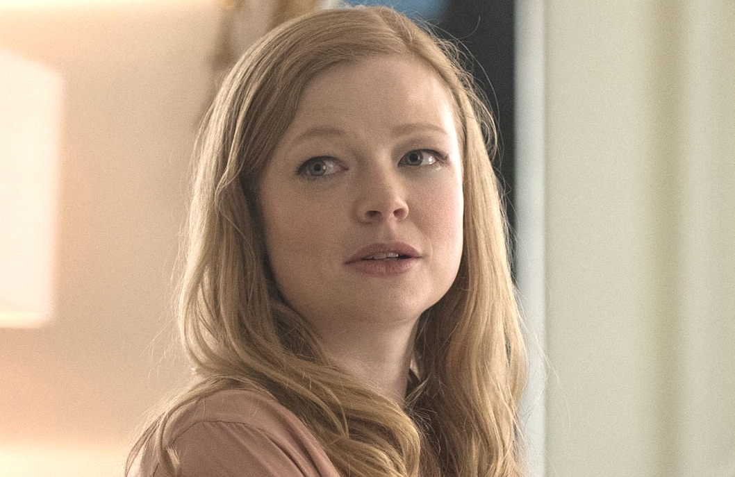 Sarah Snook as Shiv Roy in Succession (HBO)