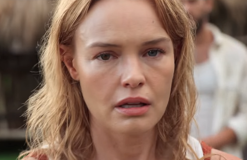 Dazed and confused: Kate Bosworth is as lost as we are in Netflix's most recent trailer for The I-Land.